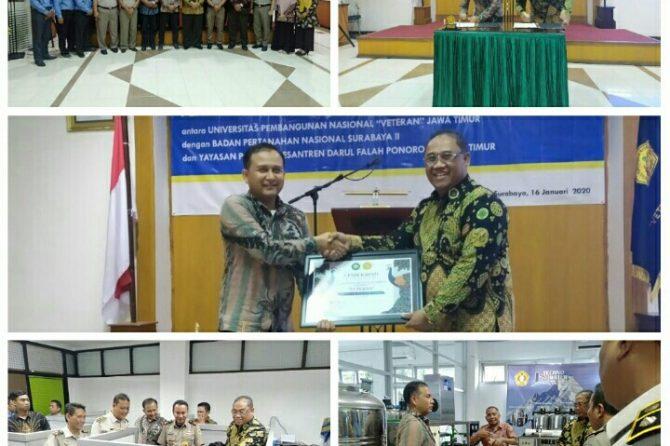Kerjasama Pondok Pesantren Darul Falah Bersama UPN (Universitas Pembangunan Nasional) Dalam Meningkatkan Pendidikan