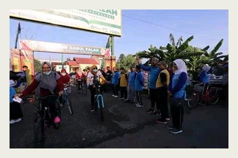 Fun Bike Harlah Ke-20 Tahun Pondok Pesantren Darul Falah